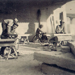 Immagine dei fondatori dell'azienda Guardini